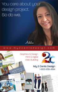 My 2 Cents Design Addie Evans Graphic Design Website Design Services